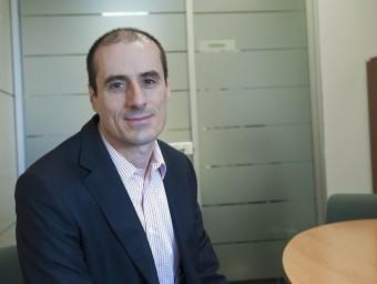 MARc llovera.  Foto:EL DIRECTOR DE SICOOP, A LA SEU BARCELONINA D'AQUESTA ENTITAT