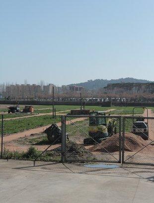 Sorteig de Horts Urbans a Platja d'Aro - Els terrenys on hi haurà els horts urbans municipals, a la zona dels Vinyals Foto: E.A.