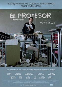 Cartell de la pel·lícula 'El profesor (Detachment)'
